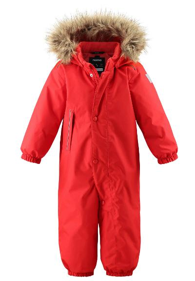 Toddlers' winter snowsuit Gotland Tomato red