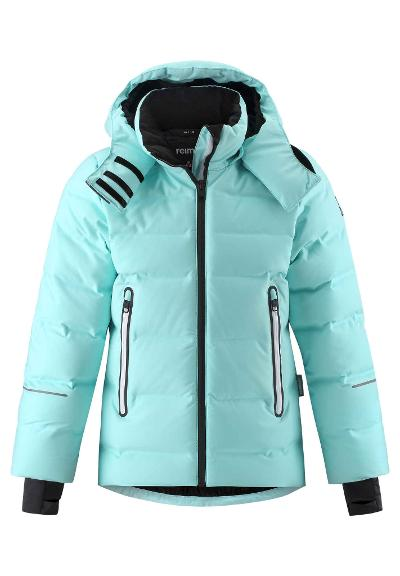 Kids' down ski jacket Waken Light turquoise