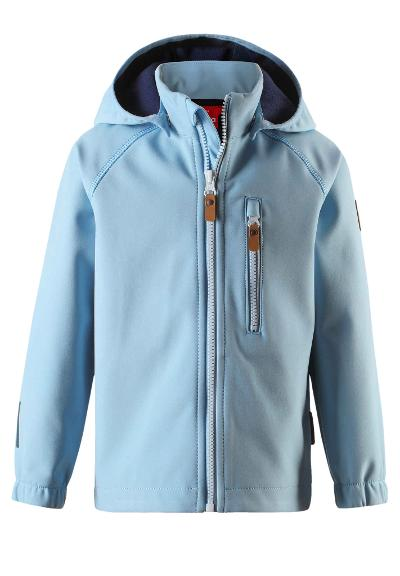 Kids' softshell jacket Vantti Blue dream