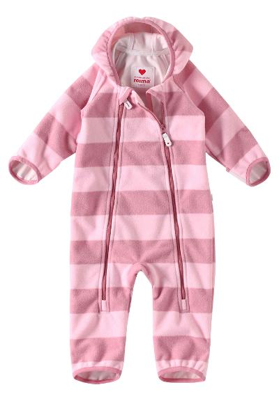 Windfleece overall, Tilhi Pale rose Pale rose