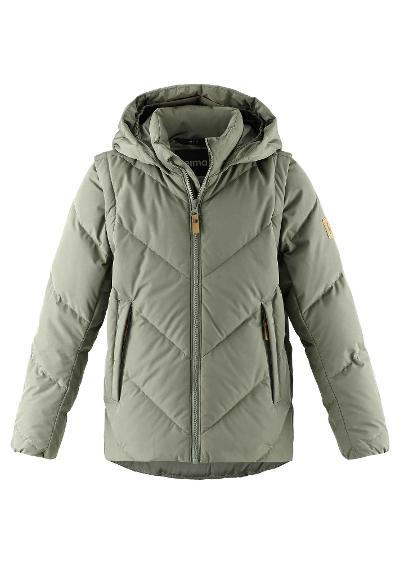 Coffee Bean jacket Beringer Greyish green