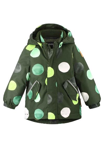Toddlers' winter jacket Antamois Dark green