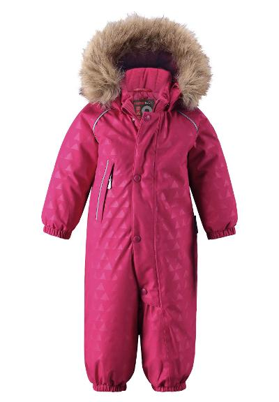 Toddlers' down jumpsuit Aapua Cranberry pink