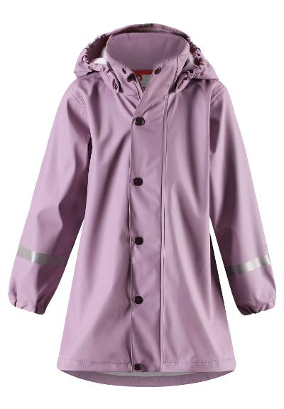 Kids' raincoat Vatten Heather pink