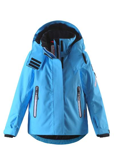 Kids' ski jacket Roxana Icy blue