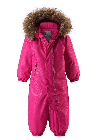 Toddlers' winter snowsuit Hulaus Raspberry pink