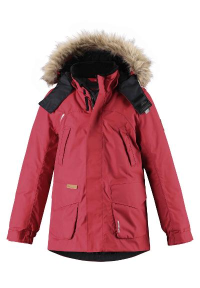 Kinder Winterjacke Serkku Red