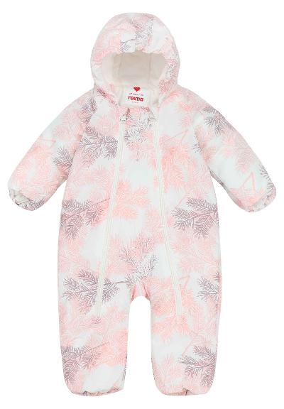 Babies' winter snowsuit Dear Powder pink
