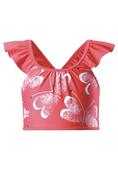 Juniors' bikini top Calamari Bright red