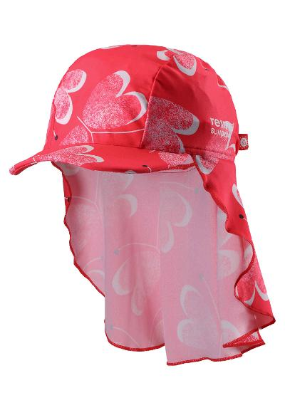 Barn UV-solhatt Octopus Bright red
