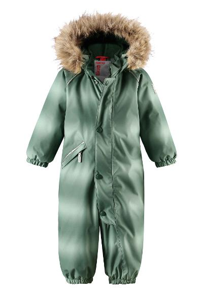 Toddlers' winter snowsuit Lappi Green