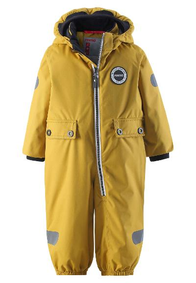 Toddlers' mid-season all-in-one Marte Mid Yellow moss