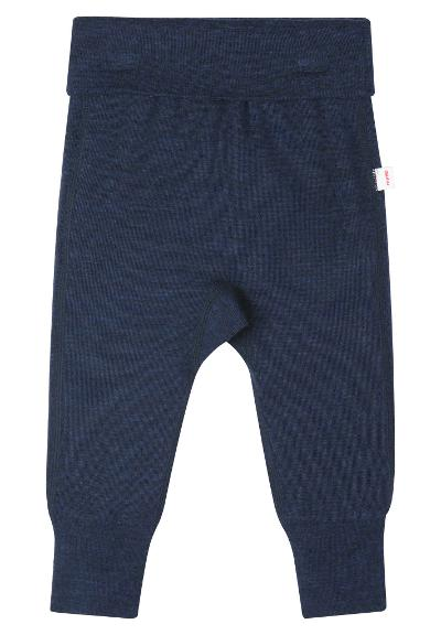 Babies' wool trousers Kotoisa Navy