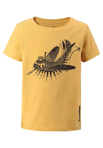 Kleinkinder T-Shirt Moomin Resande Banana yellow