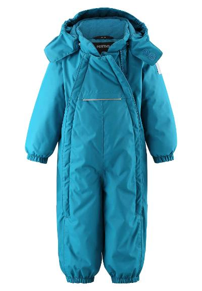 Toddlers' winter snowsuit Copenhagen Dark sea blue