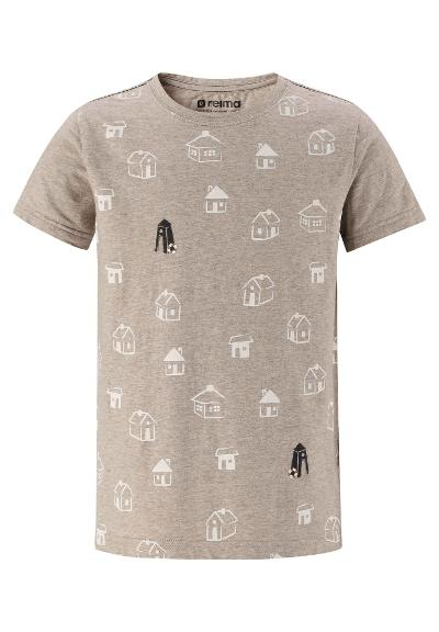 Barn T-shirt Salvia Sand