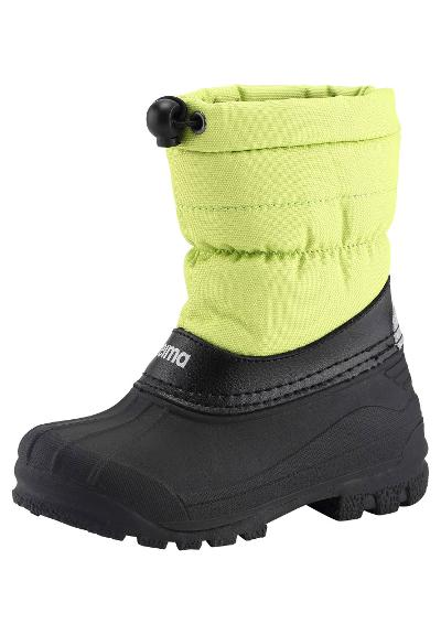 Kids' snow boots Nefar Lime green