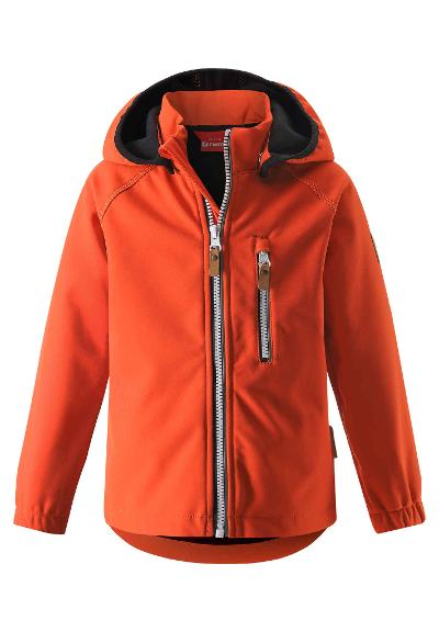 Kinder Softshell Jacke Vantti Orange
