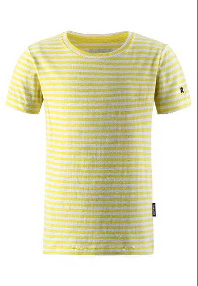T-shirt til børn Dalvadas Lemon yellow