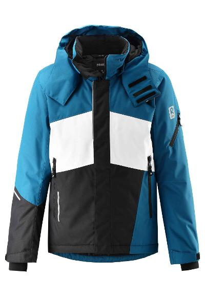 Kinder Skijacke Laks Dark sea blue