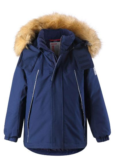 Kinder Winterjacke Niisi Navy