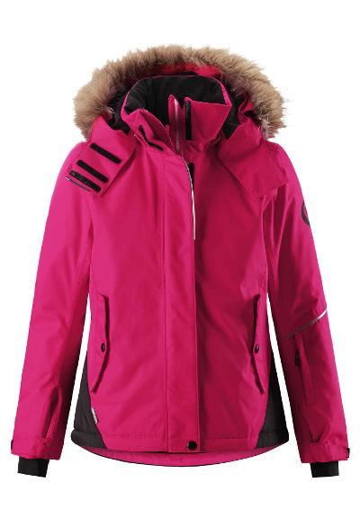 Reimatec winter jacket, Glace Berry Berry