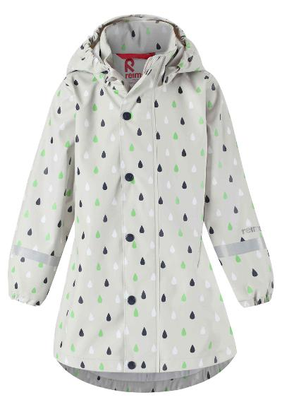 Kids' raincoat Vatten Stone beige
