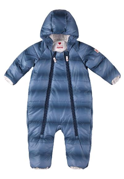 Vinterdress til baby Lumikko Denim blue