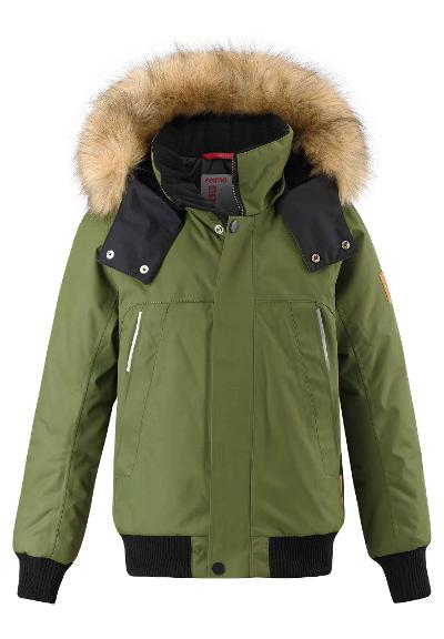 Kids' winter bomber Ore Khaki green