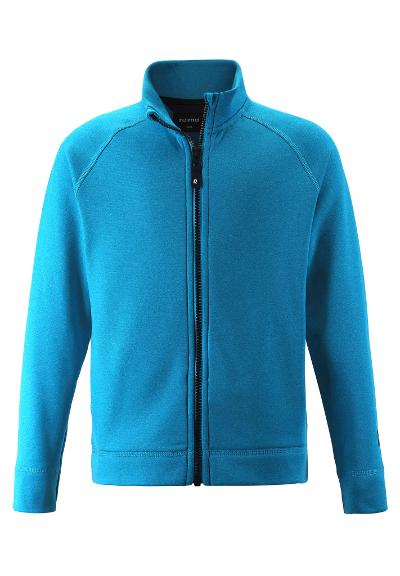 Kinder Sweatjacke Leijr Blue sea