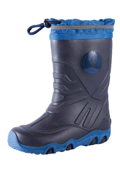 Toddlers' rain boots Slate Navy