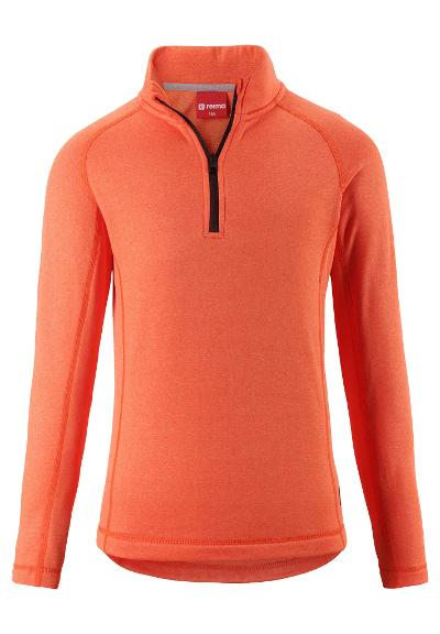 Kinder Fleecesweater Tale  Orange