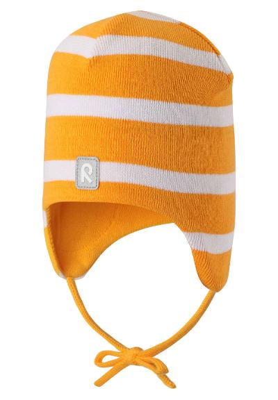 Kids' cotton beanie Kivi Mango
