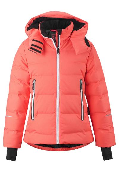Kinder Skijacke Waken Bright salmon