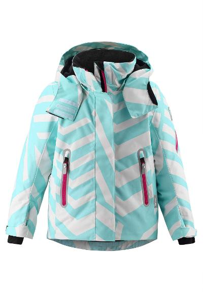 Kinder Skijacke Roxana Light turquoise