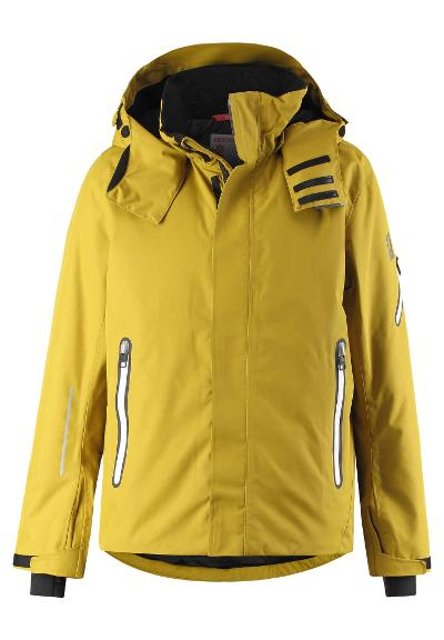 Kinder Skijacke Wheeler Yellow moss