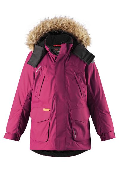 Kinder Winterjacke Serkku Dark berry