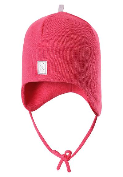 Toddlers' beanie Aqueous SS17 Strawberry red