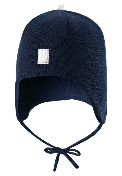 Toddlers' wool beanie Auva Navy