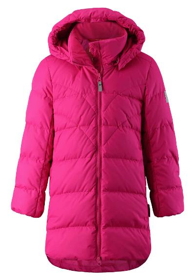 Juniors' down jacket Ahde Raspberry pink