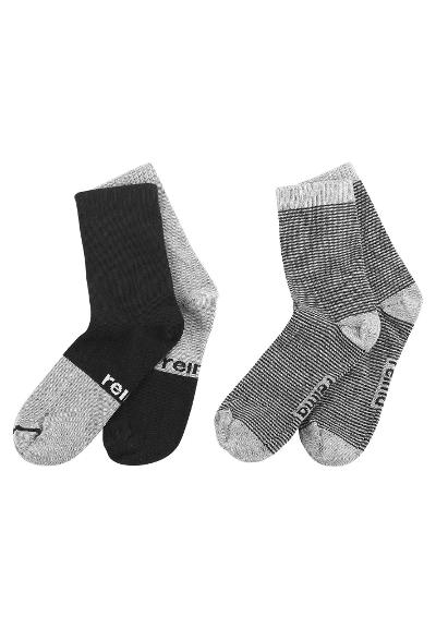 Kindersocken My Day 2er Pack  Black