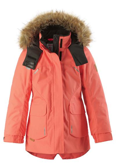 Kinder Winterjacke Sisarus Bright salmon