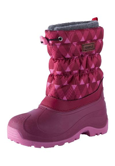 Kinder Winterstiefel Ivalo Dark Berry