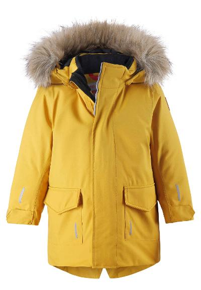 Kleinkinder Winterjacke Mutka  Dark yellow