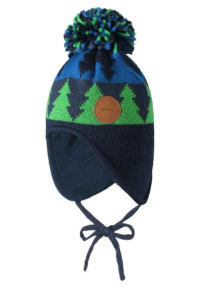 Toddlers' wool beanie Snowbird Fresh green