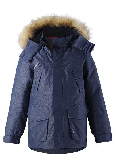 Kinder Winterjacke Urga Navy