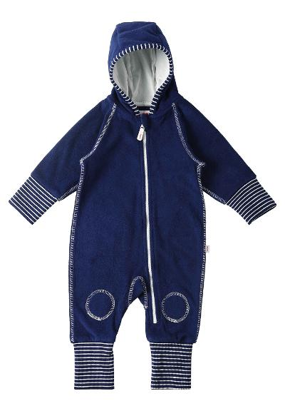 Babies' fleece overall Jolla Navy blue