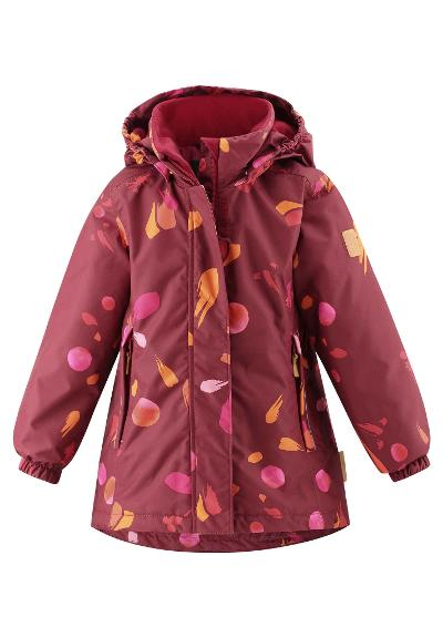 Kinder Winterjacke Toki Lingonberry red
