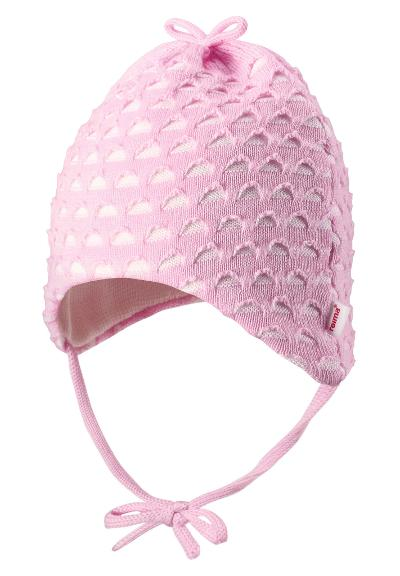 Baby hat Tiainen Pale rose
