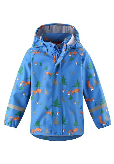 Kids' rain jacket Vesi Marine blue